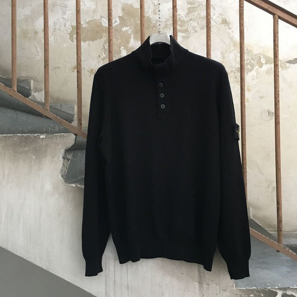 Stone Island AW 2010 Half Button Sweater (L/XL)