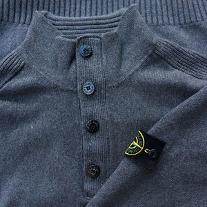 stone-island aw 2012 knit sweater grey