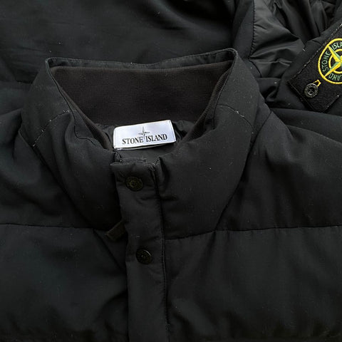 stone island aw 2015 water repellent wool down vest