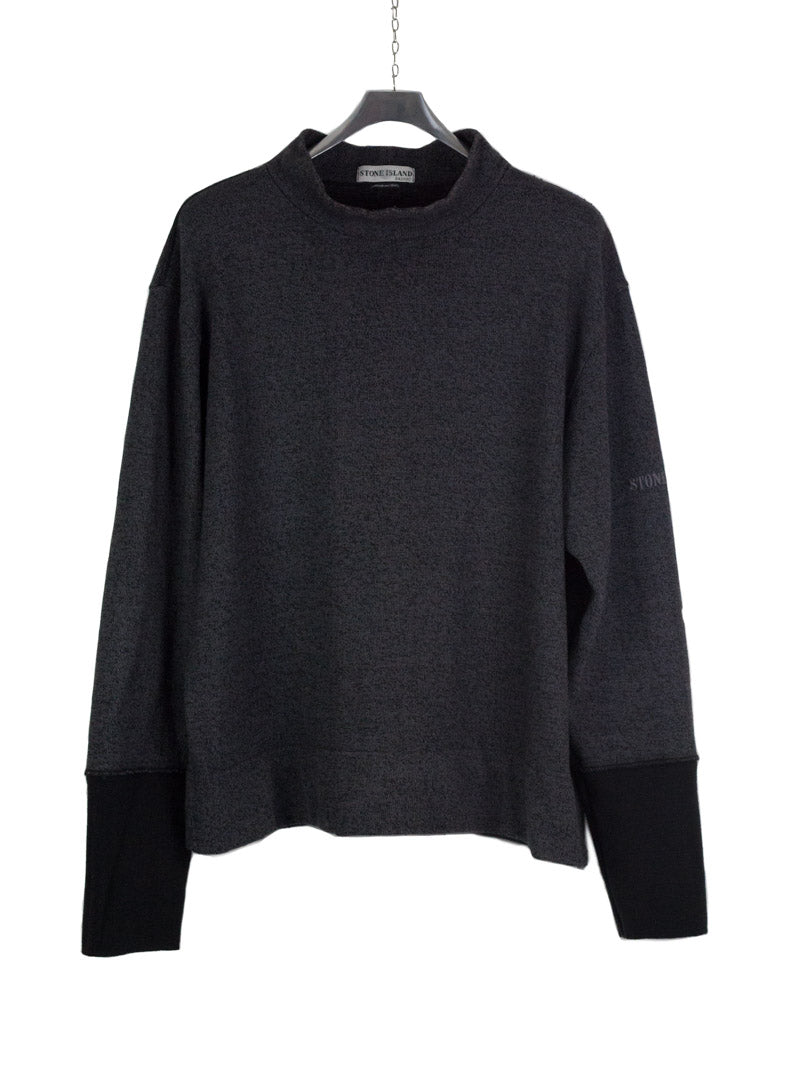 Stone Island AW 2001 Mock Neck Knit - L/XL