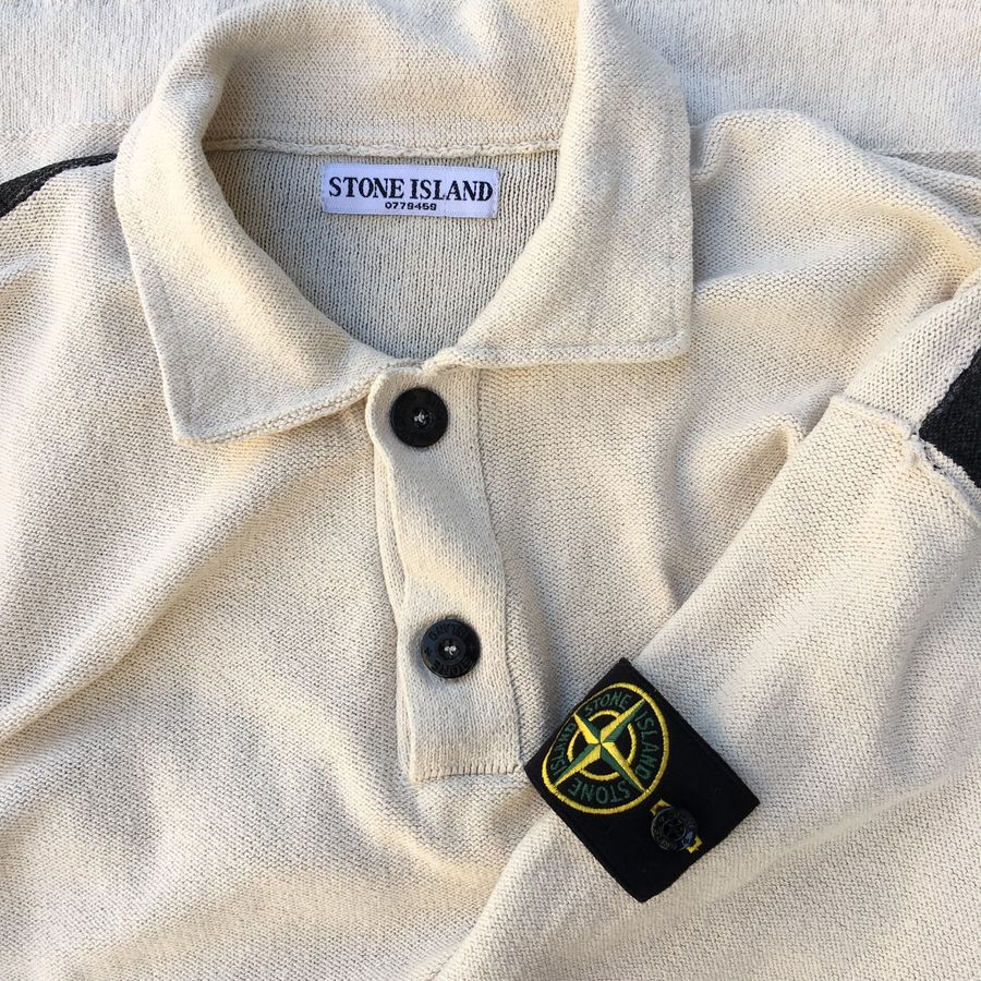 stone island pigment printed sweater vintage