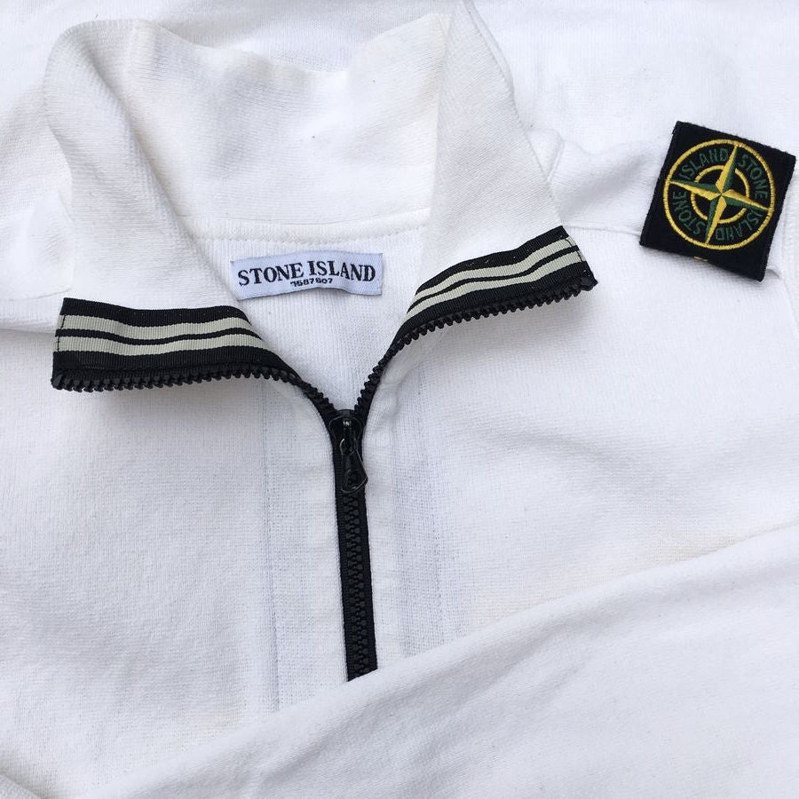 stone island ss 2009 shoulder badge sweater