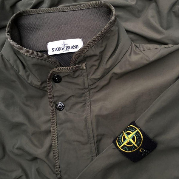 stone island ss 2013 micro reps bomber jacket in olive