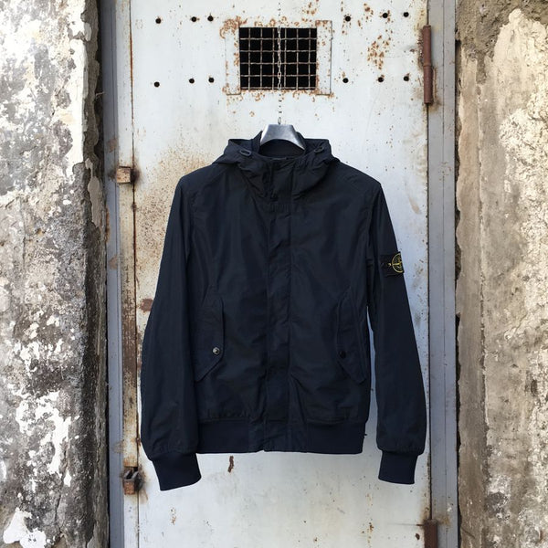 stone island micro reps hooded bomber jacket from 2015