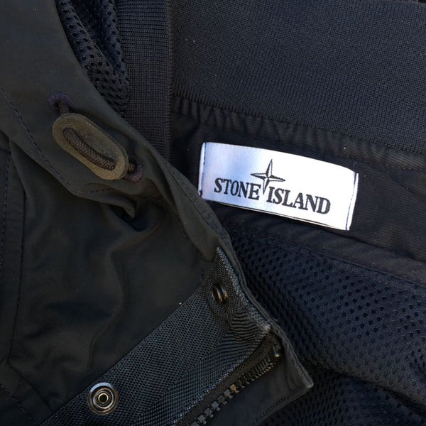 Stone Island SS 2015 Micro Reps Hooded Bomber Jacket (XS/S)