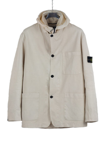 Stone Island SS 2005 Hooded Cotton Jacket