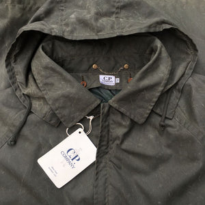 vintage c.p. company hooded parka aw 1992 by massimo osti