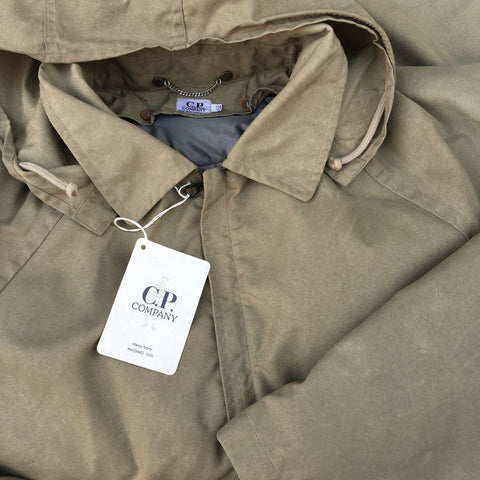 vintage cp company hooded jacket aw 1992 massimo osti beige