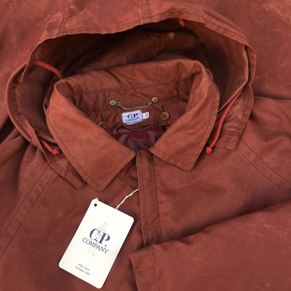 vintage C.P. Company AW 1992 Hooded Jacket by massimo osti
