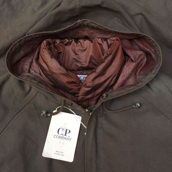 vintage cp company aw 1992 jacket with tags