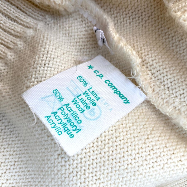 green cp company washing label