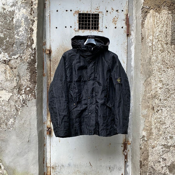 vintage stone island aw 2002 monofilament jacket by paul harvey