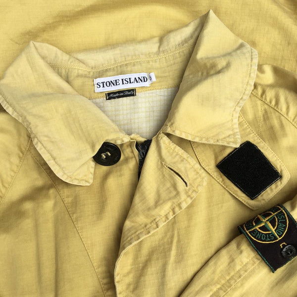 vintage stone island jacket from 1997 paul harvey