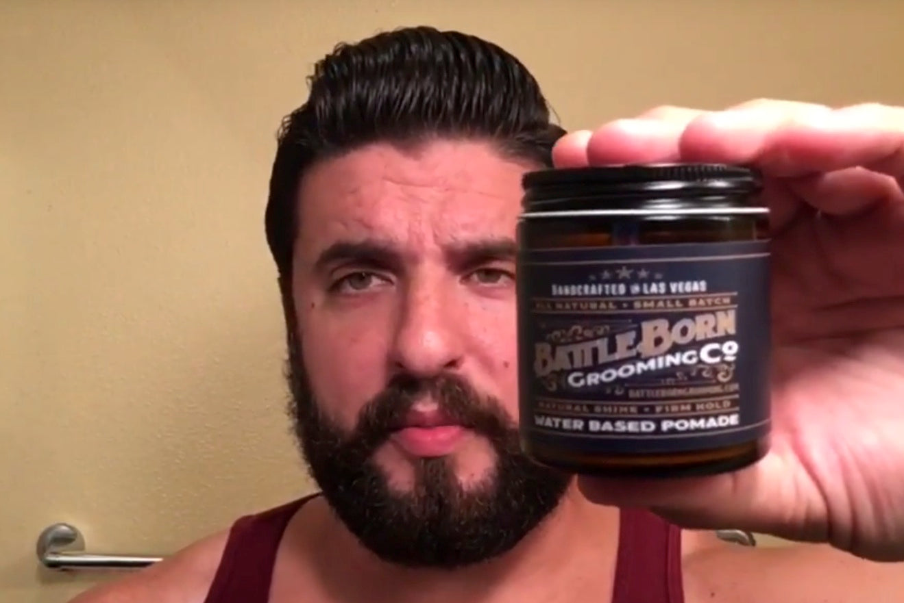 What Makes Battle Born Grooming Co's Pomade Unique?