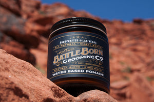 Introducing Battle Born Unorthodox Water Based Pomade