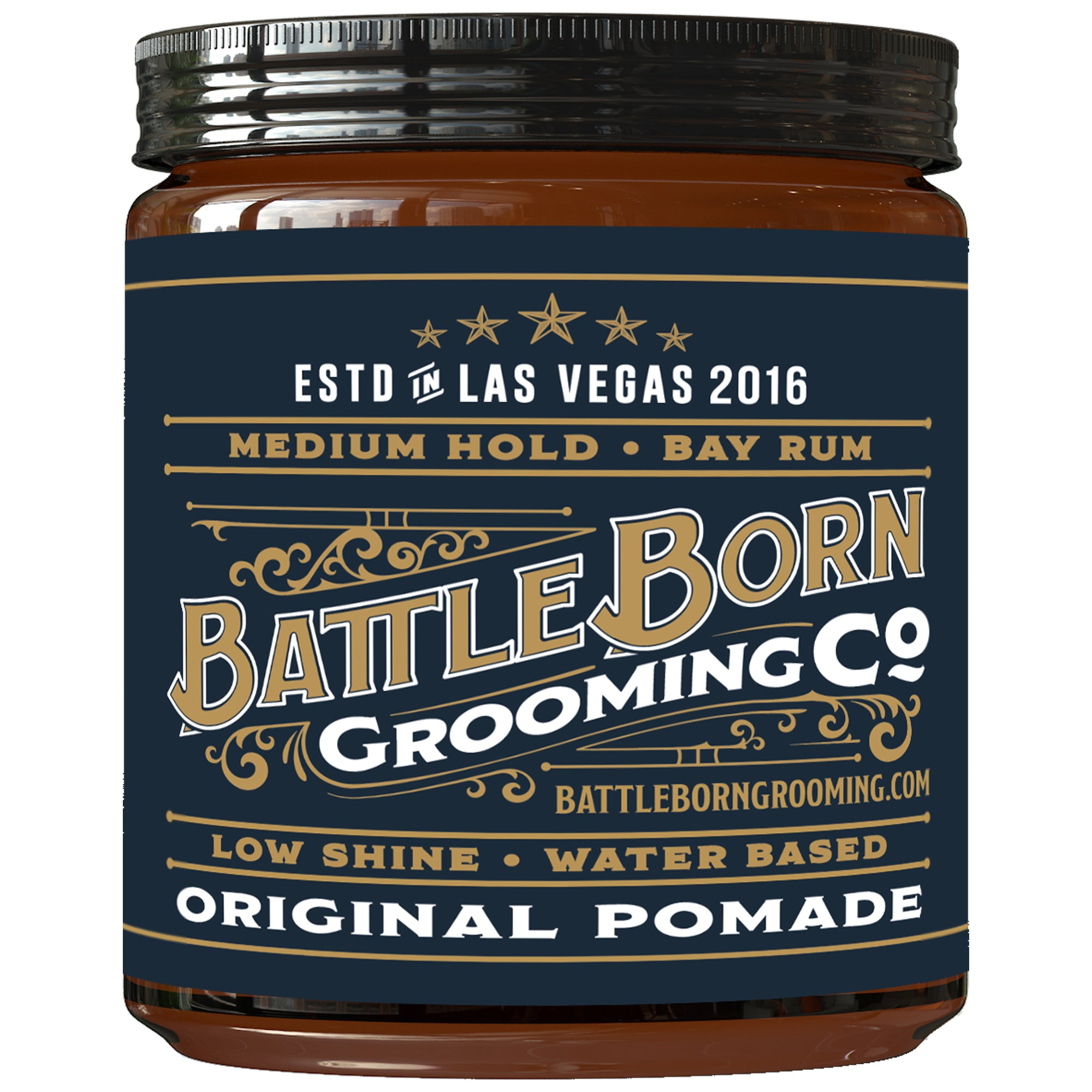 Original Pomade - (Bay Rum, 4 oz)
