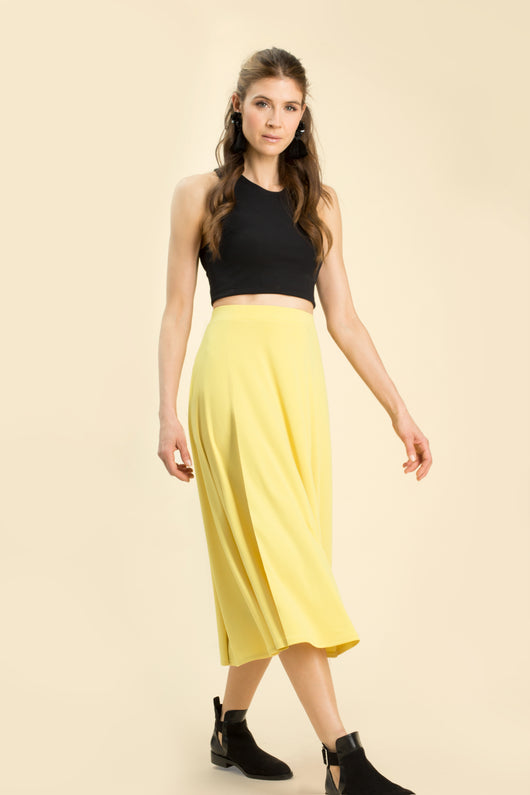DAVIS PROJECT DAWN SKIRT CITRON