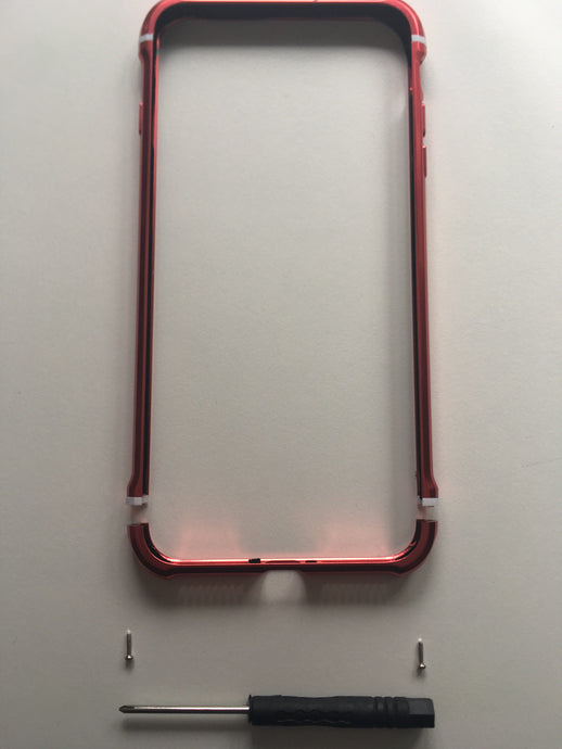 iPhone Metal Frame Anti-Shock Case