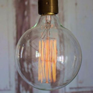 Vintage Edison Dolly Bulb G125