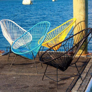 acapulco chair, mocka, outdoor chair, designer furniture, cintesi, maya, freedom furniture, farmers