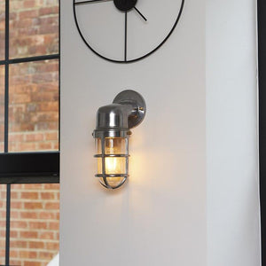 Barge wall light, outside lighting, indoor light, exterior lighting, industrial lighting, vintage lighting, new zealand lighting, bathroom lighting, bathroom wall light