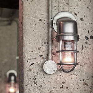 Barge wall light, outside lighting, indoor light, exterior lighting, industrial lighting, vintage lighting, new zealand lighting