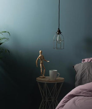Pendant light set, metal lampholder, metal ceiling rose. vintage lighting, industrial lighting. Complete lighting set. cord set, coloured electrical cable, wholesale lighting nz, wholesale price cable cord, lighting components wholesale