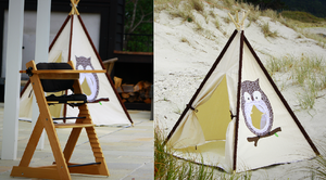 Two for $250 Highchair & Teepee