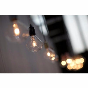 Diamond bulb, Eric Therner, retro lighting, Mr Ralph, ECC Lighting, Boudi, edison filament bulb, energy saver bulbs nz, halogen bulbs nz, decorative bulbs, Plumen, screw in designer bulbs, Lighting Plus.