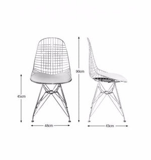 Designer chair, dining chair, Homage nz,, restaurant chair, cafe chair, restaurant chair, new zealand furniture, Scandinavian industrial vintage design, Freedom furniture, online furniture nz, Eiffel chair, Charles and Ray Eames. Eames chair.
