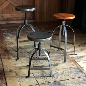Adjustable Factory Stool 460 - 640 mm