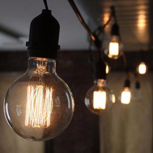 Vintage Edison Dolly Filament Bulb G95