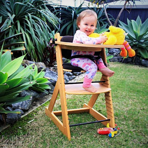 'The Little Kiwi' Wooden Highchair