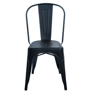 Replica Tolix cafe chair black - seconds