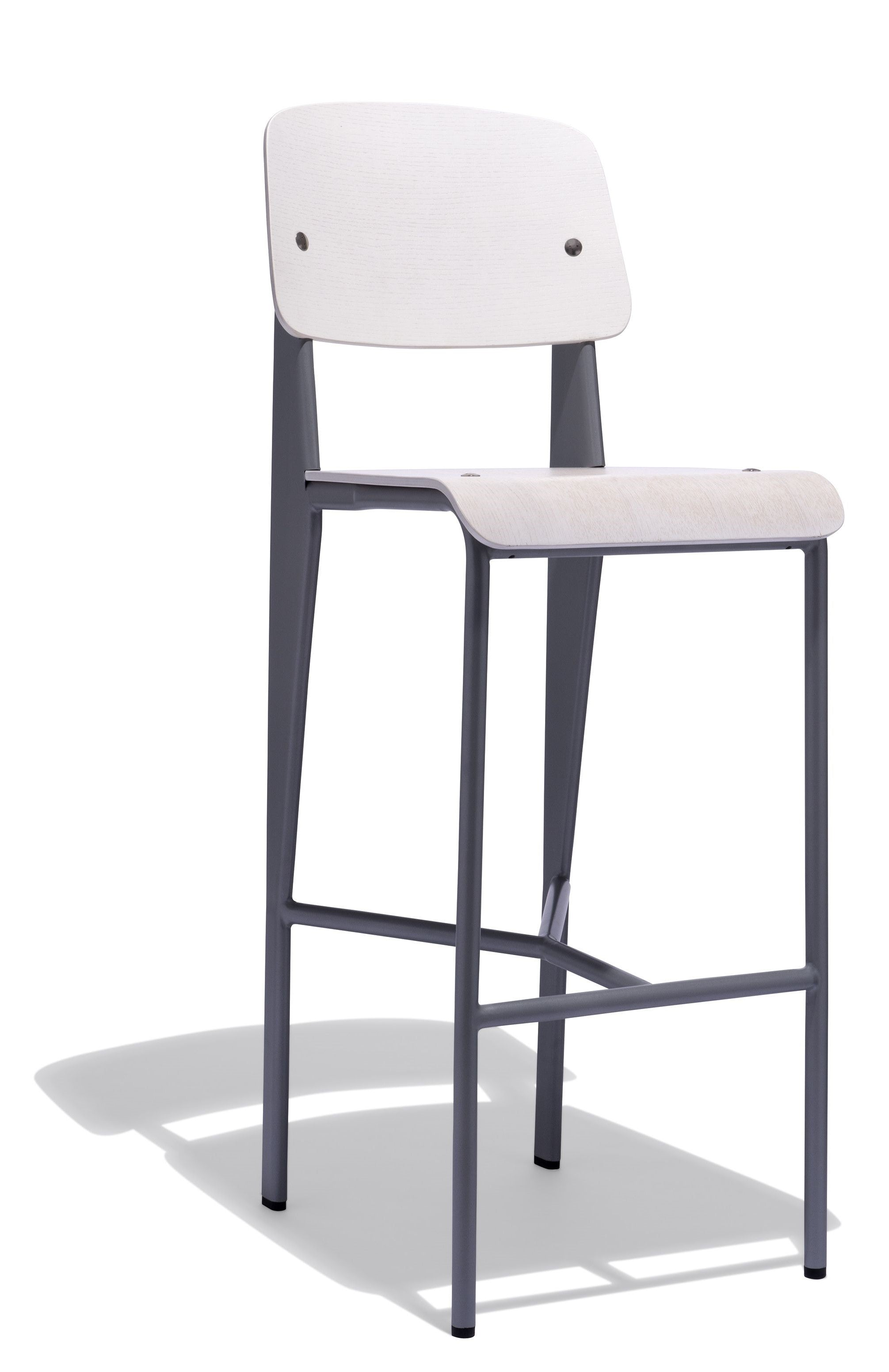Excellent Replica Prouve Stool 650Mm Onthecornerstone Fun Painted Chair Ideas Images Onthecornerstoneorg