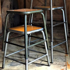 Classic 'School stool' 450 mm