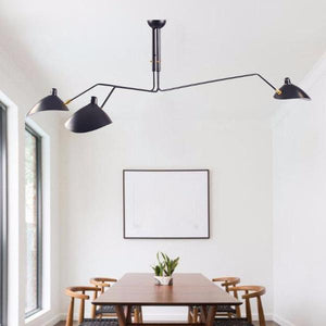 Boudi, Ico Traders, Vintage Lighting nz, ECC Lighting, industrial light, wholesale lighting nz, wholesale lights new zealand, adjustable pendant light, kitchen light, dining room pendant, serge mouille light