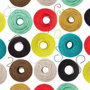 Fabric coloured cable, electrical cable, cloth covered electrical cord, vintage lighting, vintage coloured cable, 3 core cable, lighting nz, wholesale lighting nz, wholesale electrical cable