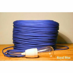 Fabric coloured cable, electrical cable, cloth covered electrical cord, vintage lighting, vintage coloured cable