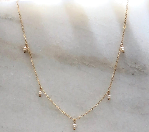 Pearl Drop Necklace