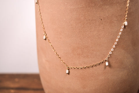 Delica Drop Necklace