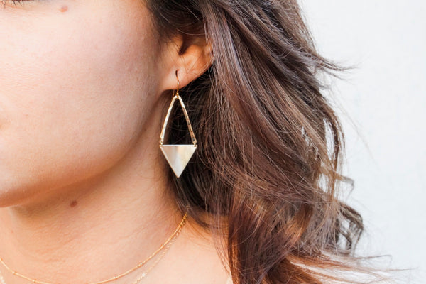 Twin Peak Earrings
