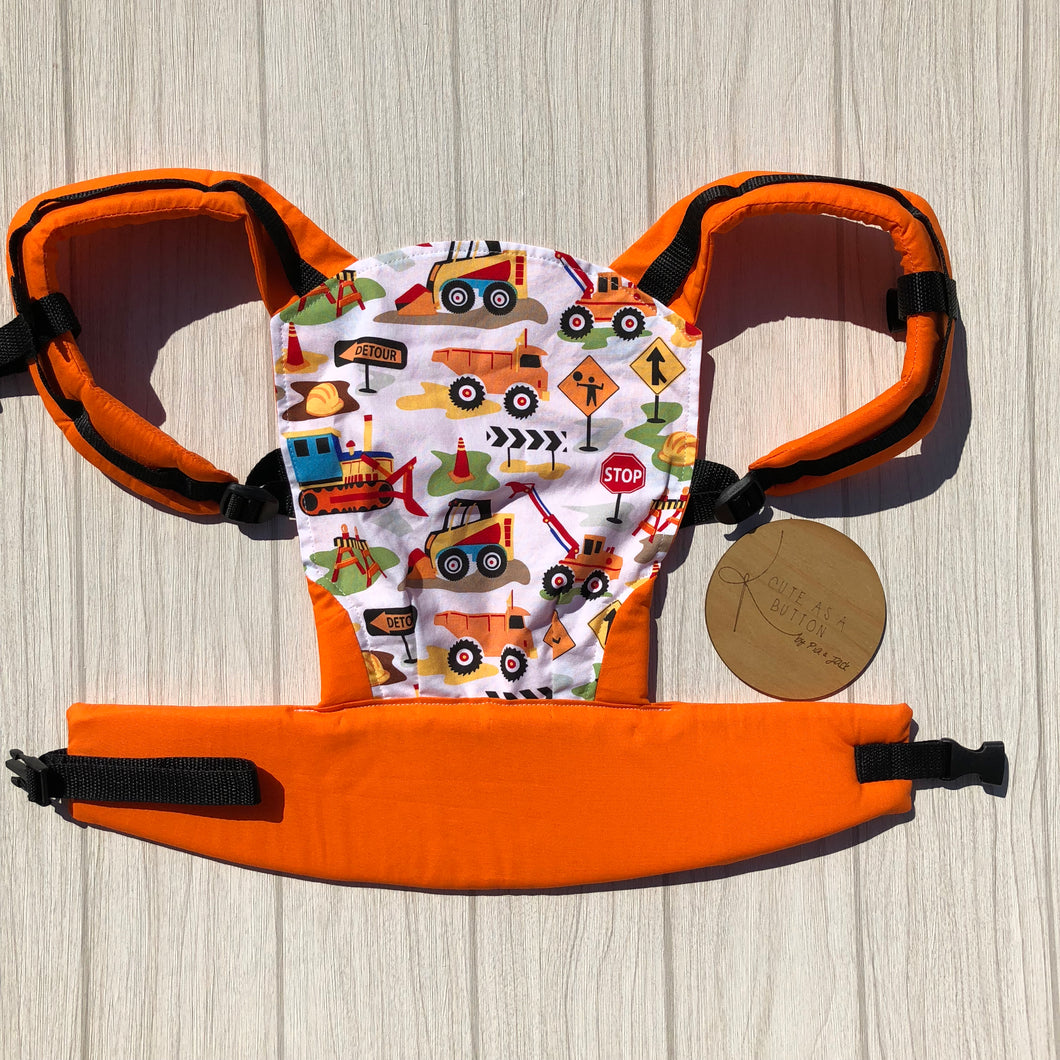 Can you dig it doll carrier, mini soft structured carrier