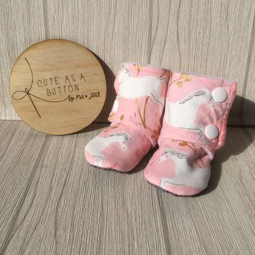 Frolic unicorn booties