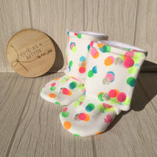 Confetti (original /white)  booties