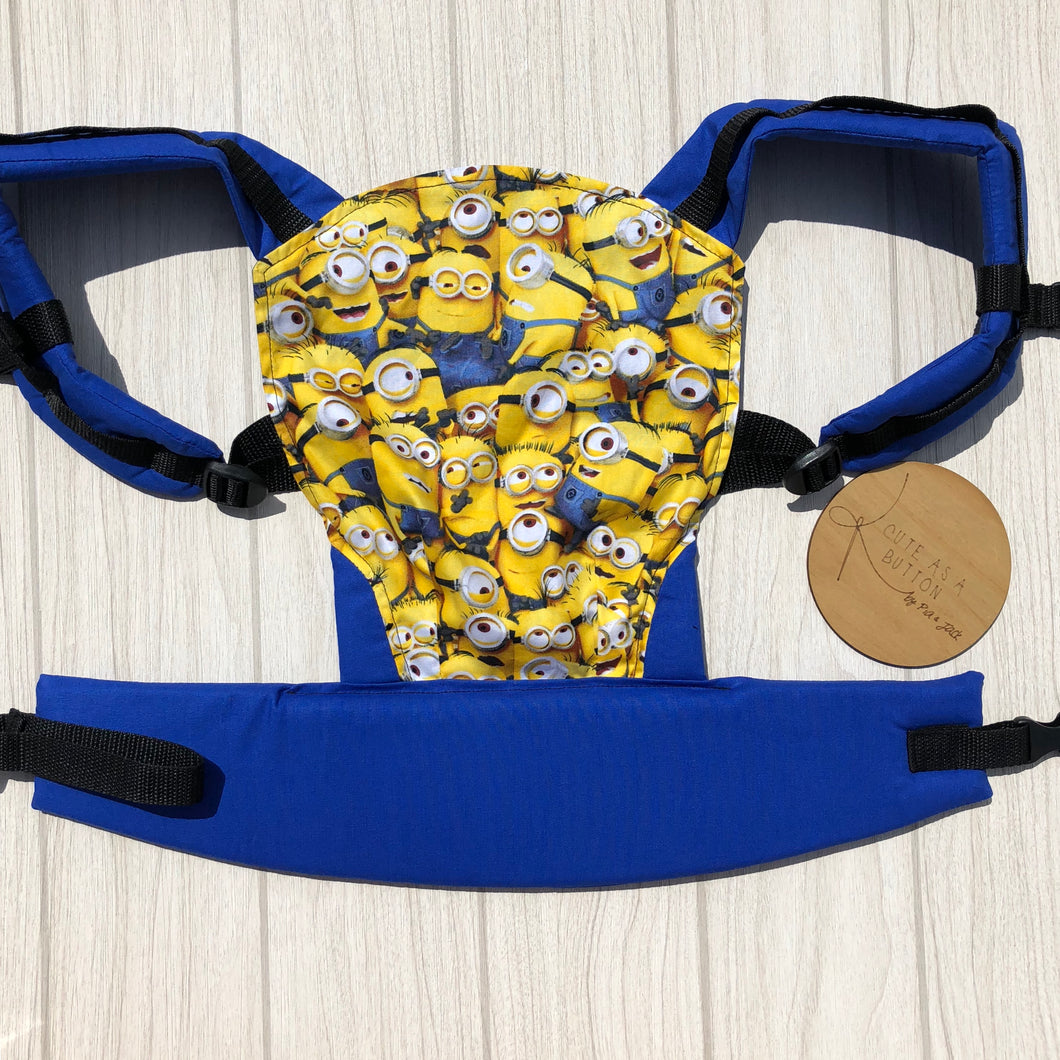 Minions doll carrier, mini soft structured carrier