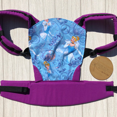 Cinderella doll carrier, mini soft structured carrier