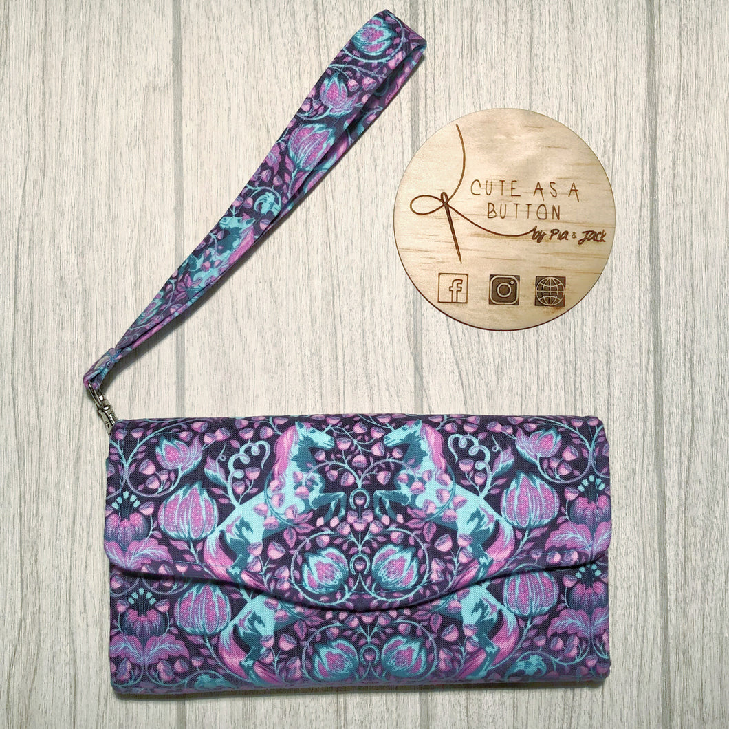 Pony play ncw wallet- purple