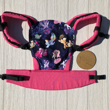 Mermaid my little pony doll carrier, mini soft structured carrier