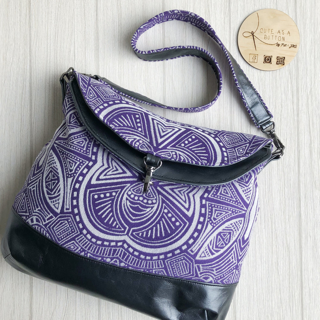 Hippo hobo bag featuring Ankalia foundation Dionysus wrap